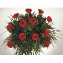 San Valentin 12 Rosas Holandesas