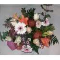 Ramo especial con Rosas&Tropic