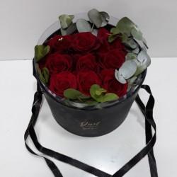 Caja regalo 9 rosas