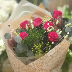 Ramo preservado 6 rosas