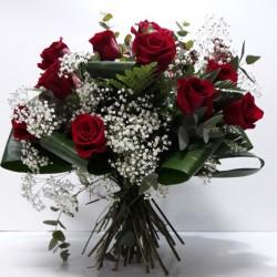 Ramo 12 rosas Vintage